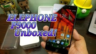 elephone P9000 Unboxing - First Helio Octa-Core Smartphone In The Philippines!