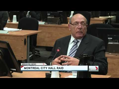 Global National - Police raid Montreal city hall
