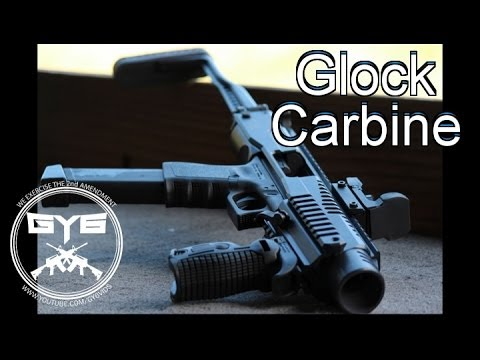 FAB Defense Stock---Convert your Glock into a Carbine