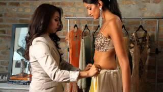 Luxemi's Guide to Sari Draping: The Siren Thumbnail