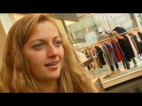 Shopping with Petra Kvitova - Porsche Tennis Grand Prix 2012