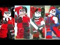 Evolution of Harley Quinn in LEGO Videogames