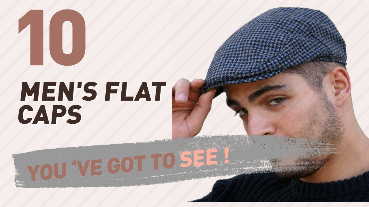 20e6cbba05f Top 10 Men S Flat Caps    UK New   Popular 2017 - YouTube