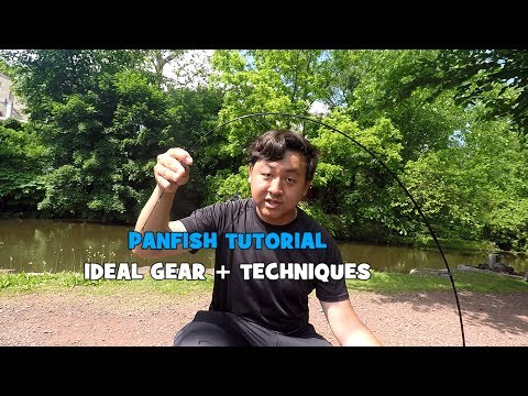 HOW TO: PANFISH!!! The Ideal Setup + Techniques (Give-Away Included) (Yardley, PA)