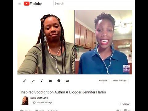 Inspired Spotlight on Author & Blogger Jennifer Harris