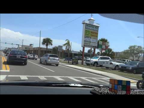 Ride down St. Pete Beach, St Petersburg, Florida, Pinellas County, (Sony HX 200v)