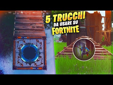 5 TRUCCHI su Fortnite da UTILIZZARE! Fortnite Battle Royale ITA!