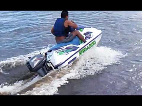 motor de popa 15 hp adaptado no jet ski youtube. Black Bedroom Furniture Sets. Home Design Ideas