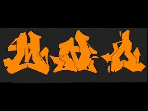 graffiti alphabet flava font - YouTube Graffiti Alphabet Flava