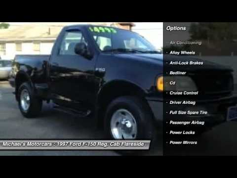 F150 Truck Bed Replacement >> 1997 Ford F-150 Reg. Cab Flareside Short Bed 4 Neptune City NJ 07753 - YouTube