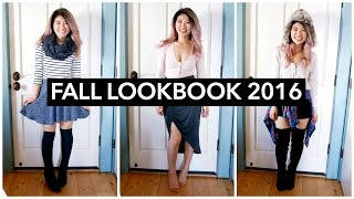 Fall Lookbook 2016! Outfit Ideas for Fall | FashionbyAlly