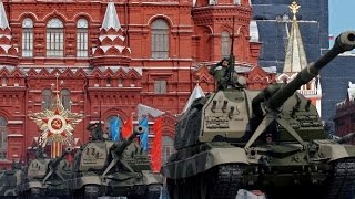 Парад Победы с Возложением Цветов к Могиле Неизвестного Солдата  Москва  Красная Площадь