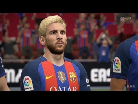 FIFA 17 - UEFA Champions League - FC Barcelona vs PSG   Gameplay (HD) [1080p60FPS]