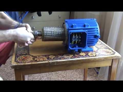 видео: Асинхронник на магниты 1,5 кВт