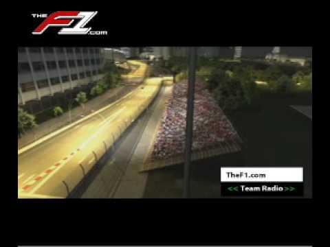 Circuito F1 Singapur : Singapur vuelta virtual al circuito urbano de singapur youtube