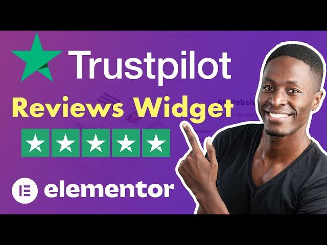 Display customer reviews using Elementor's Trustpilot Reviews Widget by Premium Addons