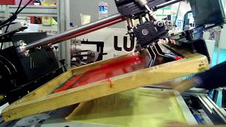 Lusso banmakser LRS 2535 tekstil baskı uygulaması fespa eurasia 2016