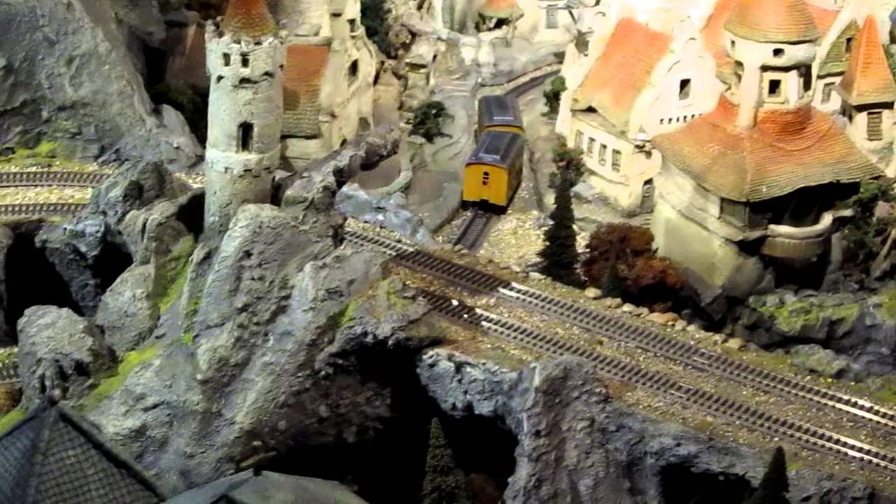 Efteling Treintje Zonder Locomotief In Diorama Hd 21 Oktober