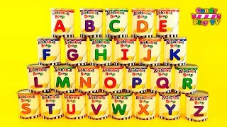 Learn the alphabet|Learn Letter|LEARN the ALPHABET from A to Z with Alphabet soup for Kids