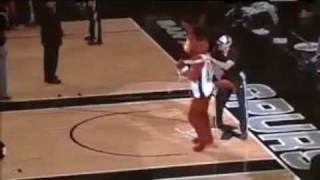 Best Mascot Fight Ever!