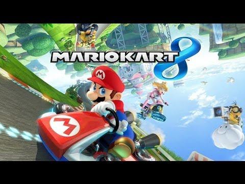Mario Kart 8 прохождение часть 9 - Онлайн Гонки ч 1  (Wii U) [HD 1080p]