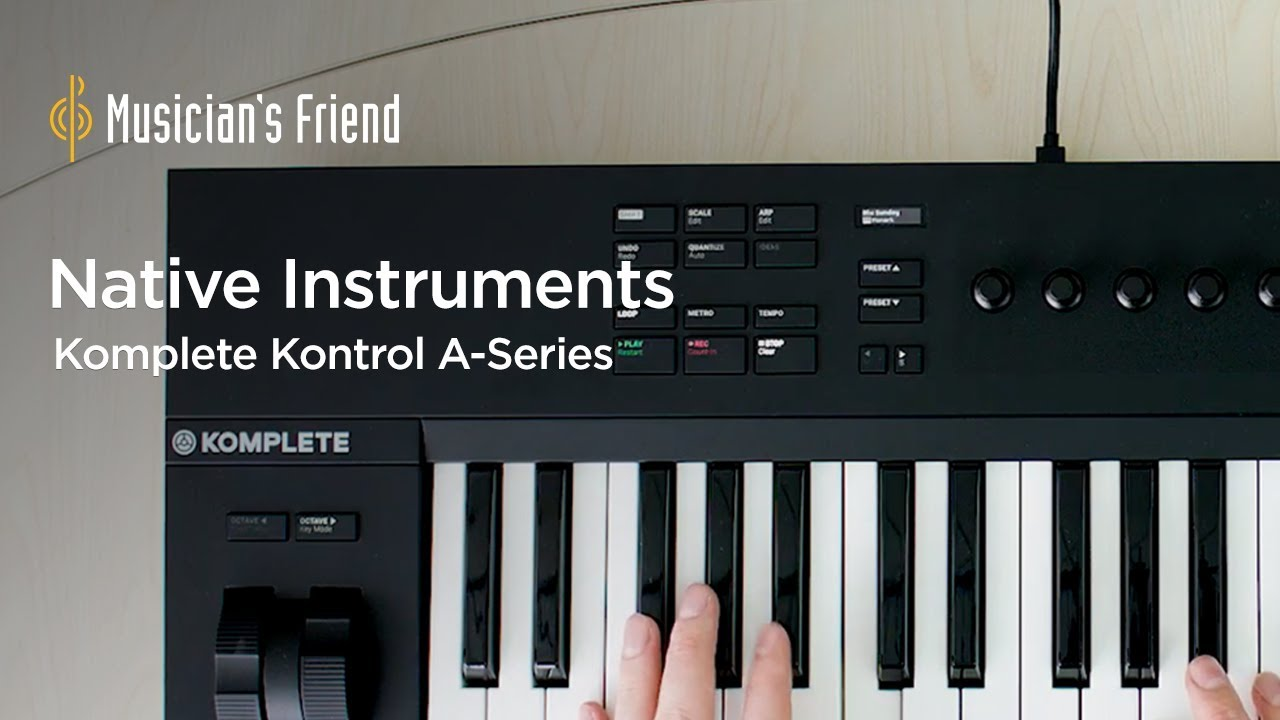 Native Instruments Komplete Kontrol A Series A49 - Features, Specifications  and Demo