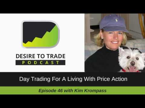 Day Trading For A Living With Price Action - Kim Krompass | Day Trader Interview (046)