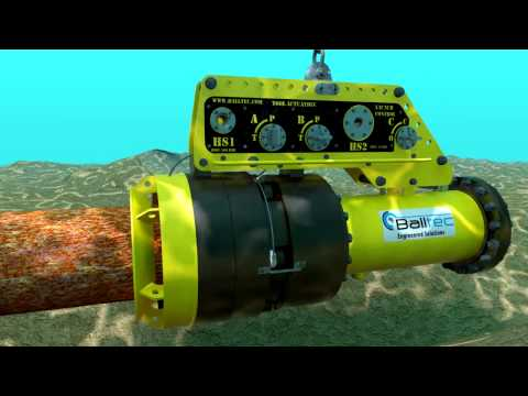 Balltec Flangeless Subsea PIG Launcher