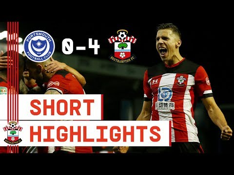 90-SECOND HIGHLIGHTS | Portsmouth 0-4 Southampton 🔥