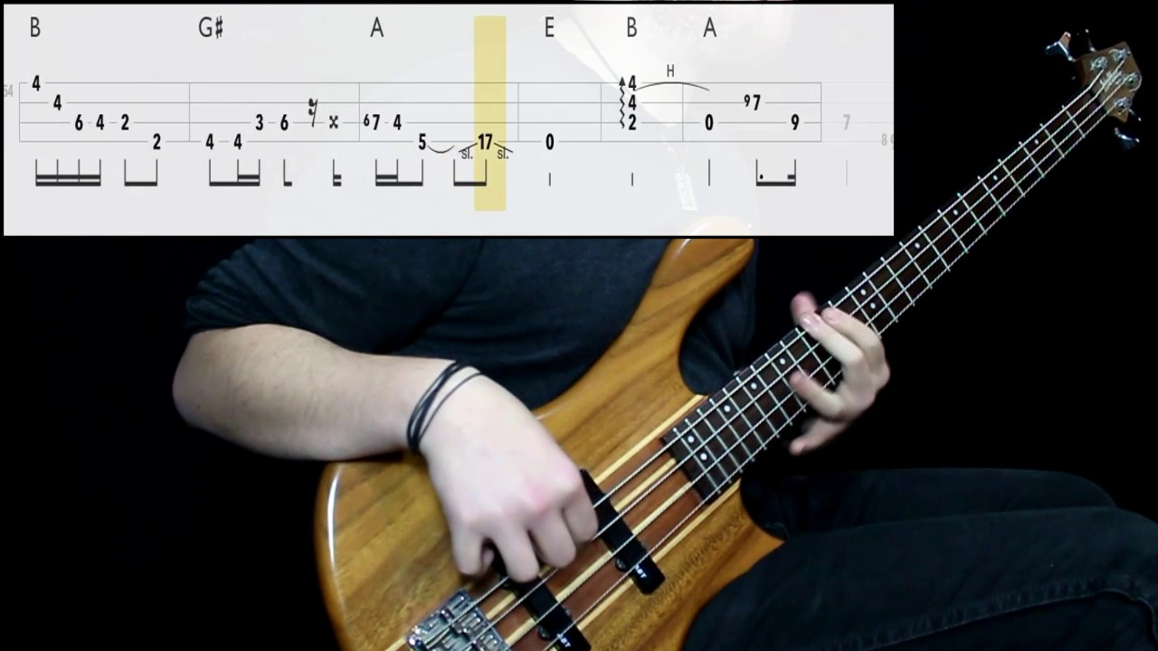 Streetlight Manifesto Skyscraper Bass Cover Play Along Tabs In