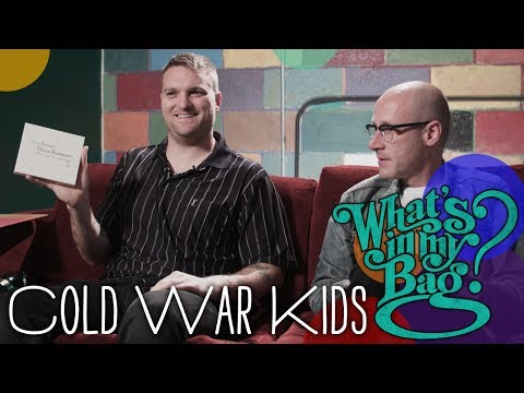 Cold War Kids - What's in My Bag?