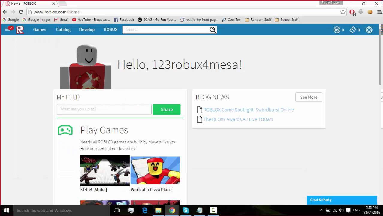 How to get free ROBUX and TIX on ROBLOX *WORKING UNPATCHED ...