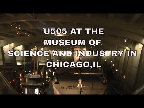 U505 Submarine at The Museum of Science and Industry  Chicago,IL