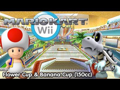 Slim Plays Mario Kart Wii - Flower Cup & Banana Cup (150cc)