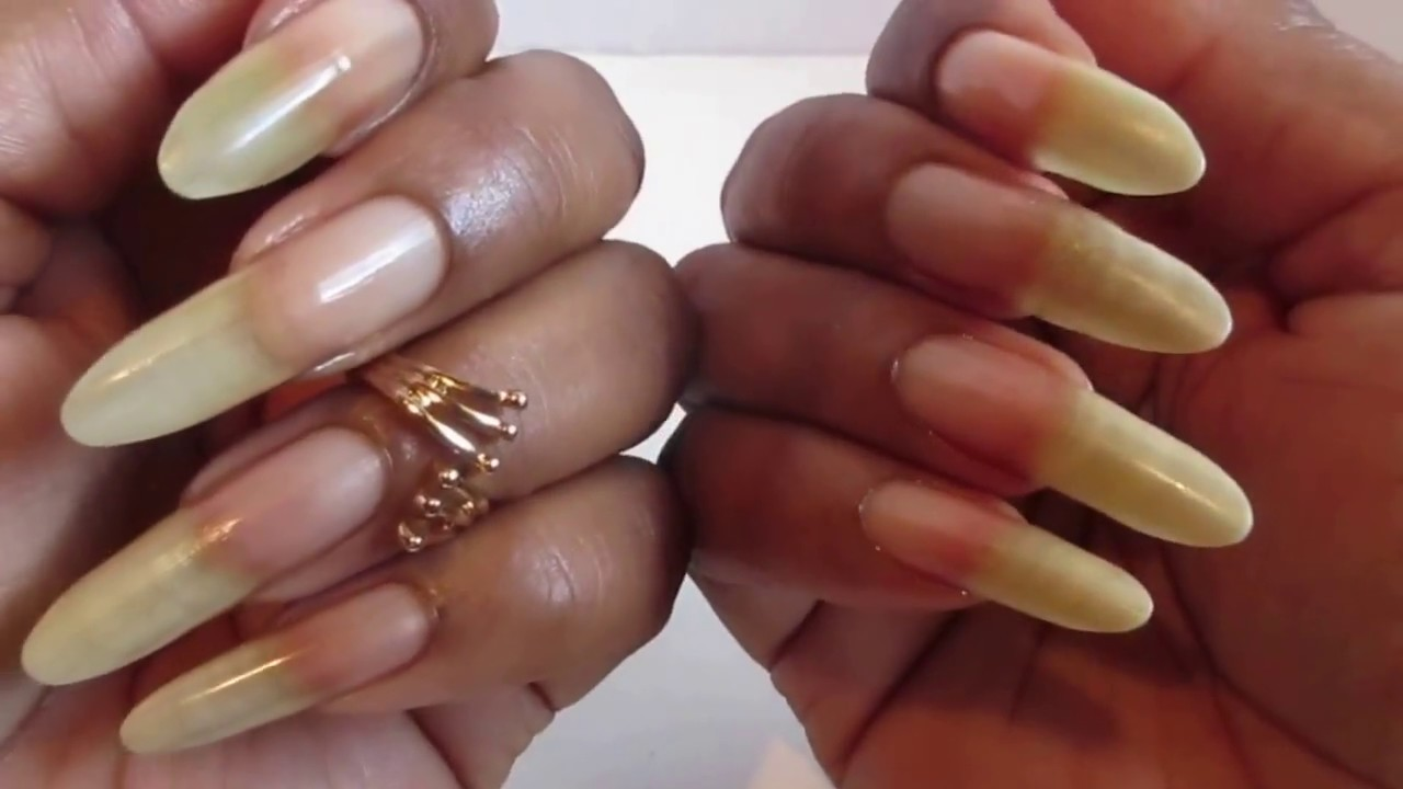 March Update on My Natural Nails *2017* - YouTube