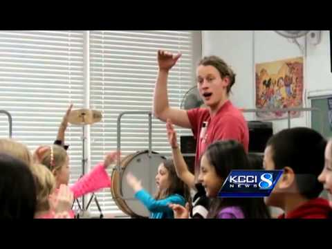 Music teacher brings excitement to classroom