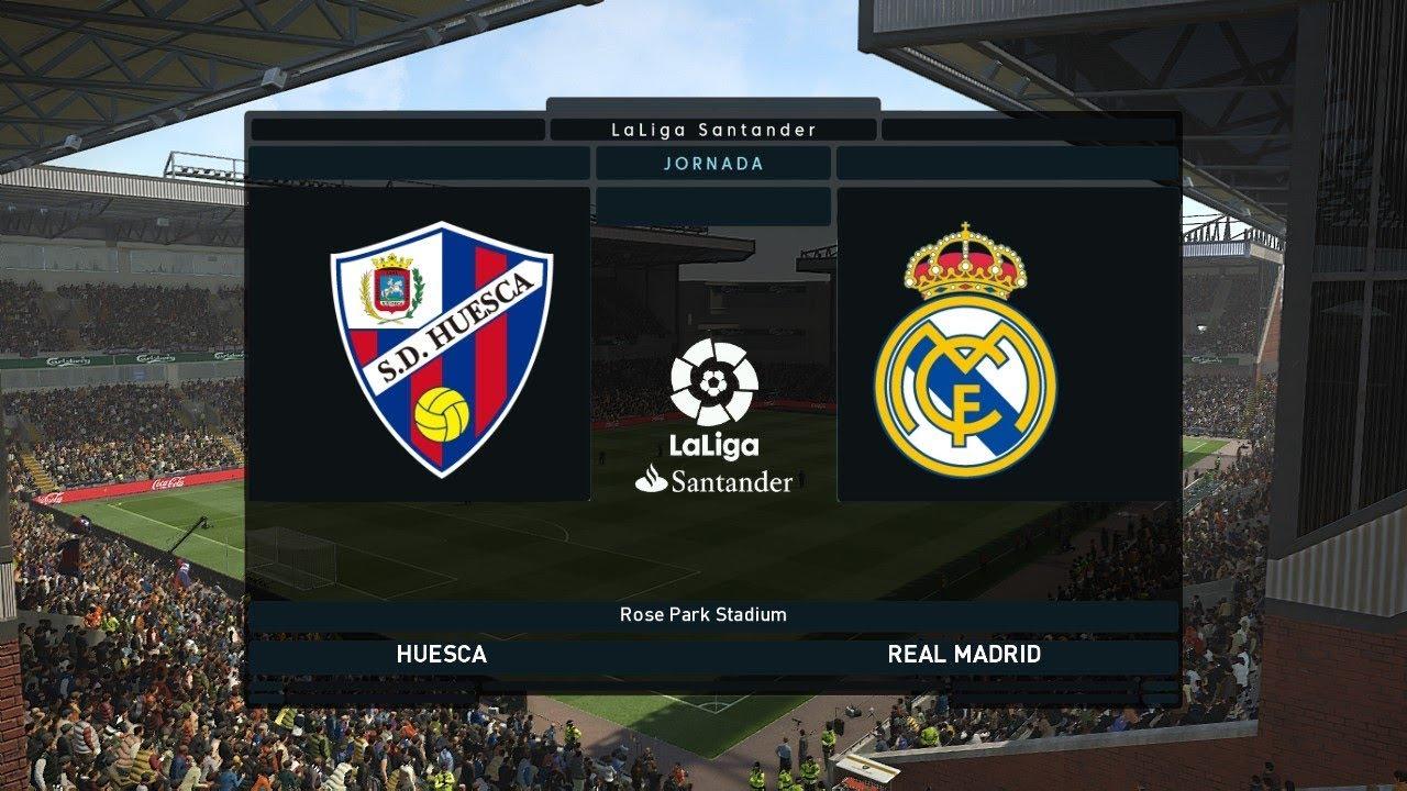 Real Madrid Vs Huesca La Liga 9 December 2018 Gameplay Youtube