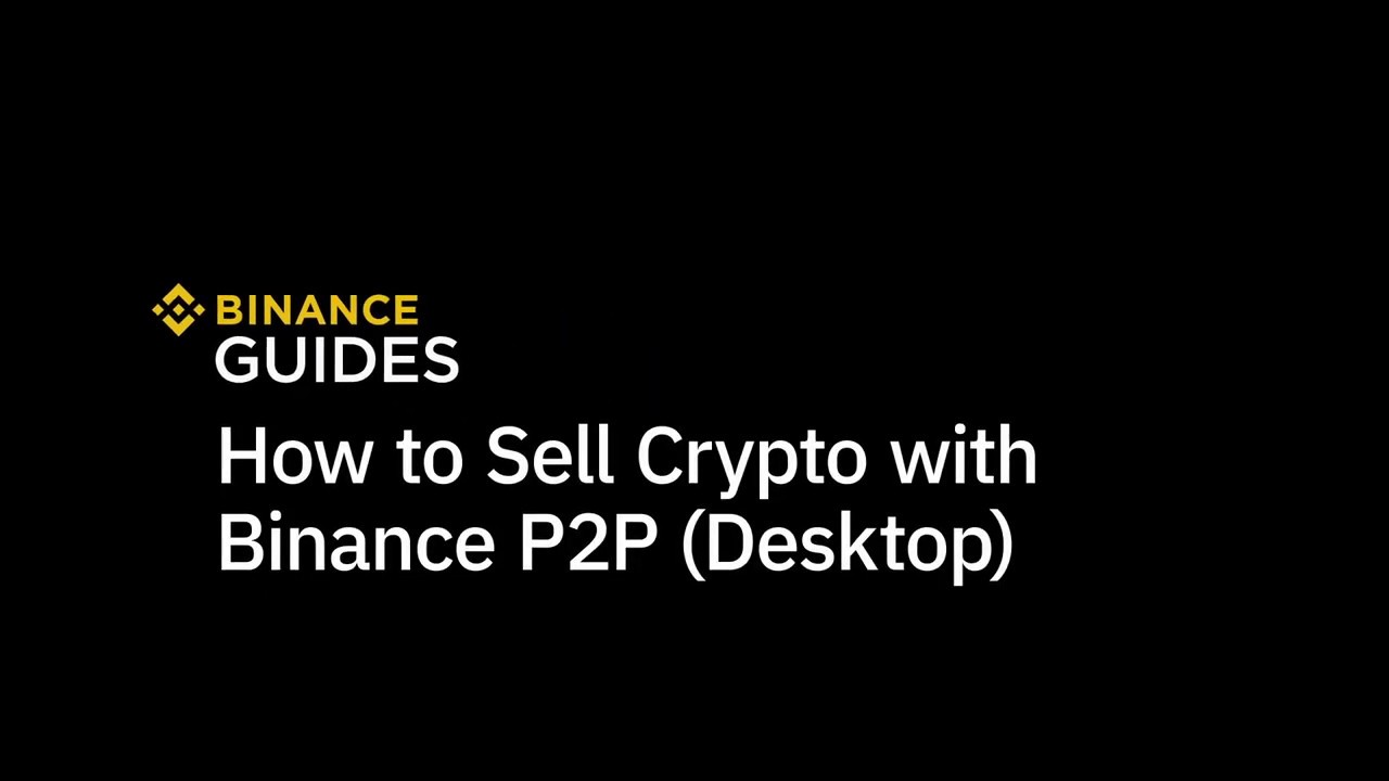 best way to sell cryptocurrency on binance