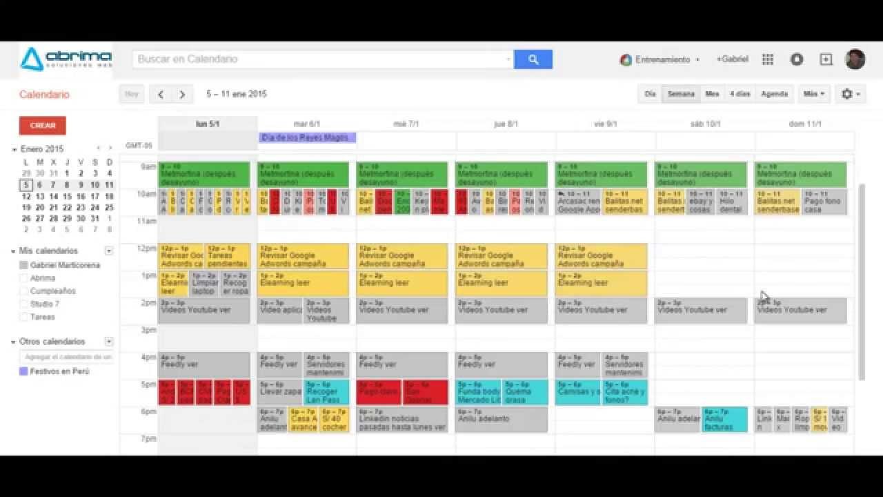 Calendar Google Unsubscribe