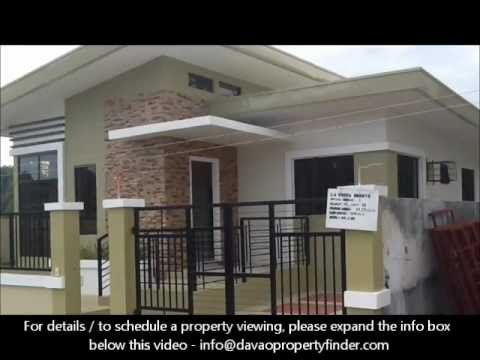 Bedroom House Bungalow Type At La Vista Monte Davao City YouTube - 3 bedroom house design in philippines