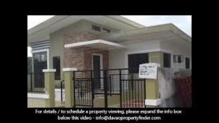 3-bedroom House Bungalow Type At La Vista Monte Davao City