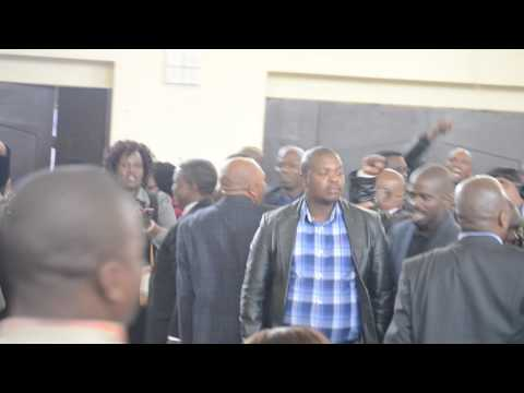 iFP supporters break into song to protest MEC