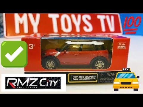 Unboxing Rmz City Die Cast Car Mini Cooper S Countryman 01934