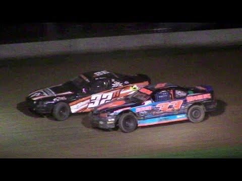 Mini Stock Feature | McKean County Raceway | 9-28-17