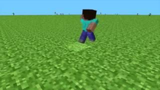 Jugando la segunda versión de Minecraft