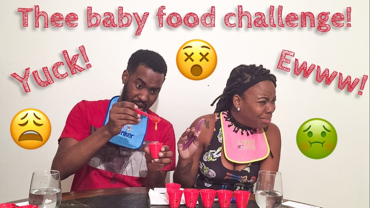 The Baby Food Challenge Soooo Disgusting The Closest We Have Ever Been To Vomiting