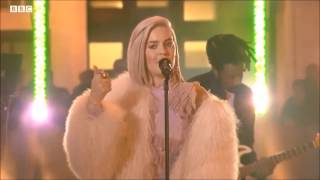Video Anne-Marie performs Ciao Adios live on The One Show BBC download MP3, 3GP, MP4, WEBM, AVI, FLV Januari 2018