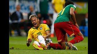 【サッカー】ALL レッドカード ネイマールのプレイは本当にファールなの【激突】