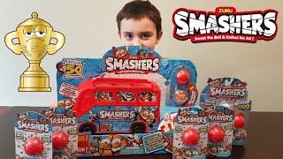 Smash ATTACK! Zuru Smashers Series 1 & Smashers Bus! Smash Bus! Super Rare & Limited Edition found!
