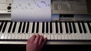 How to Play Happy Birthday on the Piano (Super Easy)